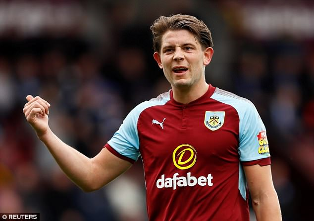 James Tarkowski and Burnley have been saddled with the run-in from hell