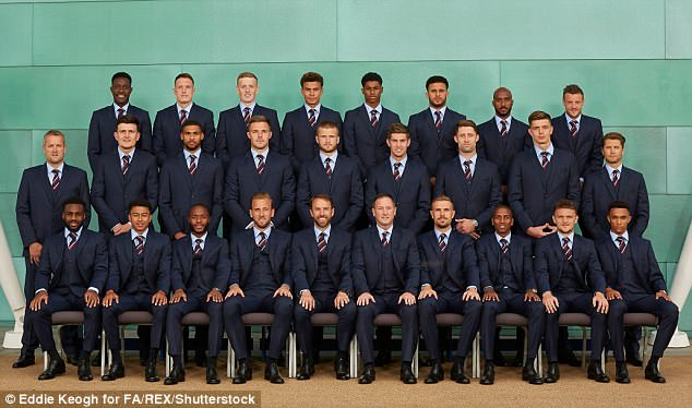 Manager Gareth Southgate has selected the second youngest squad at the tournament