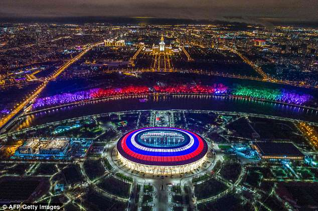 The World Cup 2018 tournament in Russia kicks things off with Russia vs Saudi Arabia on Thursday, June 14