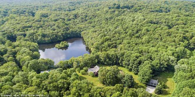Hideaway: Brokaw listed his home in Pound Ridge, New York, approximately an hour outside the city, for $6.3 million earlier this month (property above)