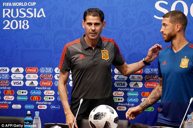 Fernando Hierro has replaced Julen Lopetegui as Spain boss on the eve of the World Cup