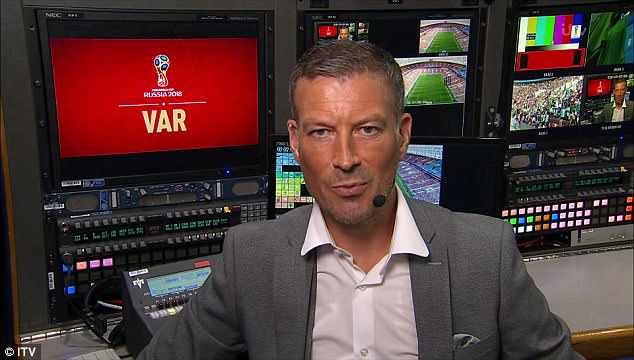 Mark Clattenburg will be ITV's referee pundit during the tournament and spoke concisely