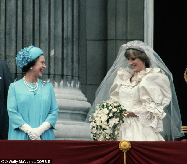 The Duchess of Sussex may refer to her as Ma'am which can be shorten to Mama as they become closer, a nickname that Diana (pictured with the Queen ) previously used