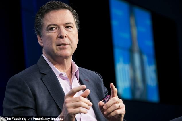 James Comey used his personal Gmail account to conduct FBI business on numerous occasions