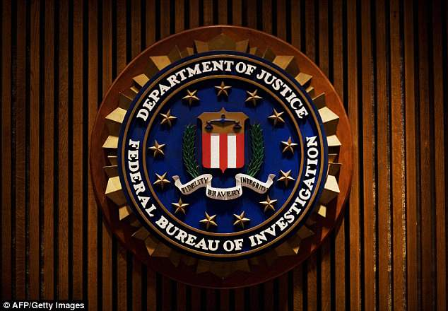 The crest of the FBI