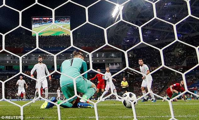 The Spanish shot-stopper gifted Portugal the lead before half-time by spilling shot on Friday