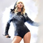 Taylor Swift Shimmers on stage In Ireland