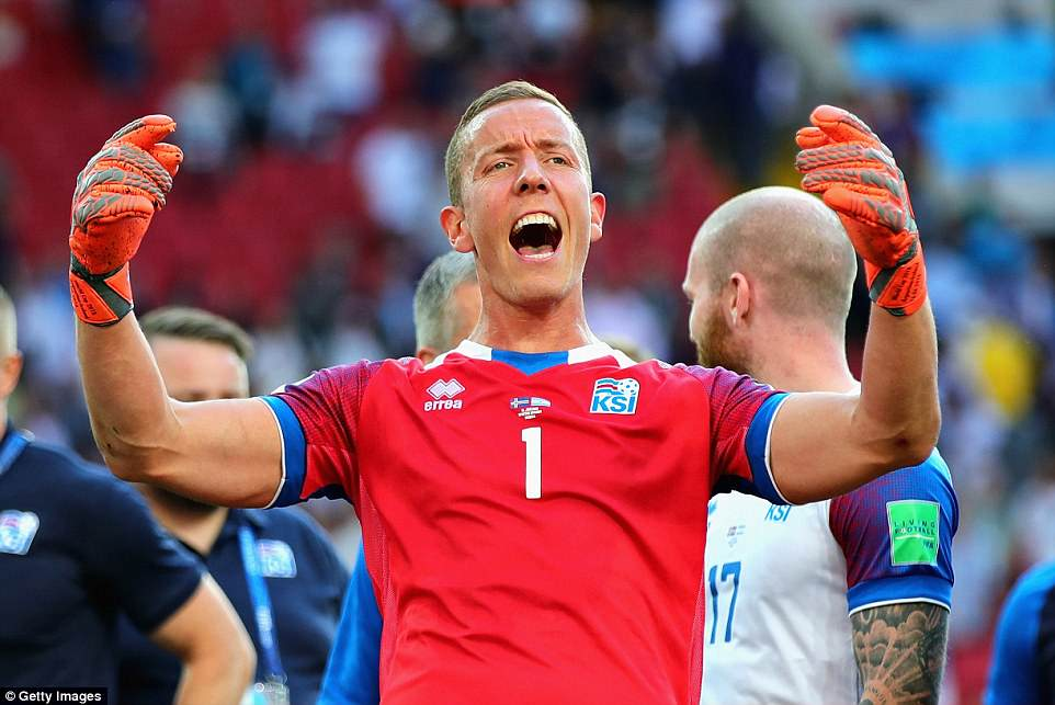 Goalkeeper and part-time film-director Halldorsson was the hero for Iceland, who enjoyed their first World Cup outing