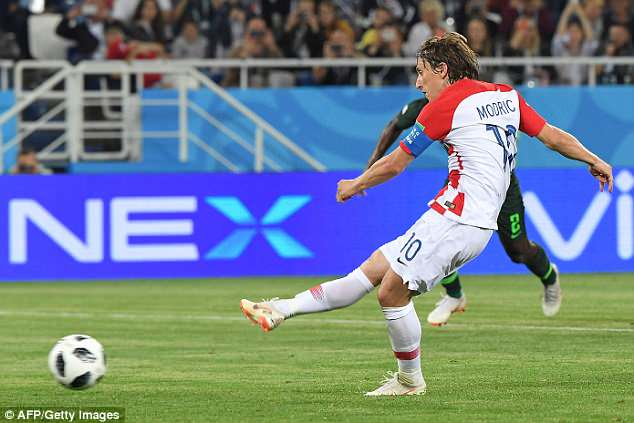 A penalty from Modric with 20 minutes left securing three points for Zlatko Dalic's men