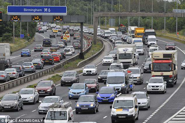 The AA said that the rush hour will begin 'much earlier' with the roads and rail networks quieter than usual between 7pm and 9pm