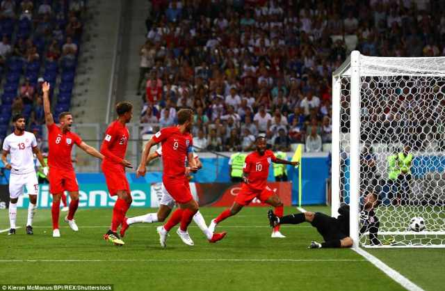 The Tottenham striker poached brilliantly to turn past the helpless Tunisia 'keeper and get England's campaign started