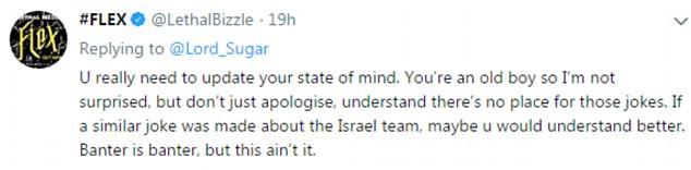 Rapper und Schauspieler Lethal Bizzle - wirklicher Name Maxwell Owusu Ansah, aus Walthamstow, London, nahm zu Twitter zu äußern seine Meinung ws auf der Debatte