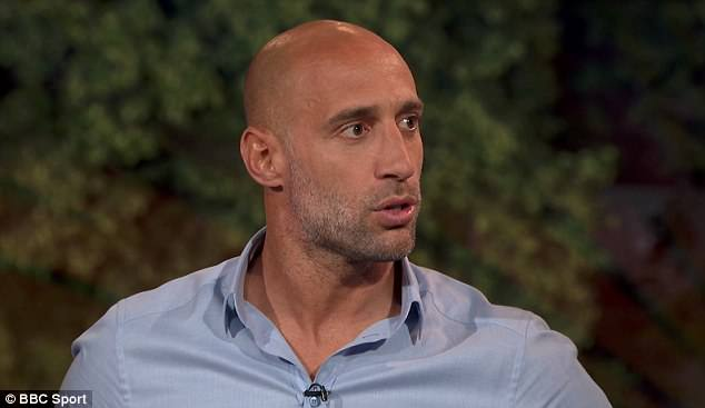 Pablo Zabaleta agreed with Ferdinand that Serbia should have got a penalty in the second half