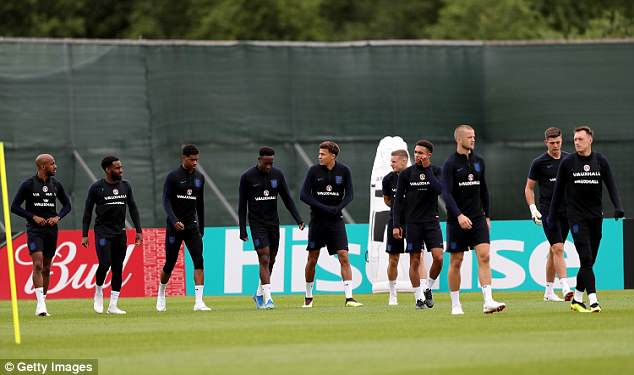 The Three Lions who have not yet seen much action may get the chance to shine vs Belgium