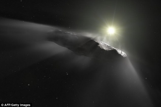 Astronomers from the Harvard Smithsonian Center for Astrophysics came to the conclusion that the strange asteroid