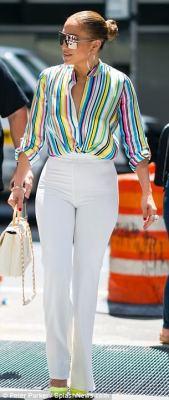 Jennifer Lopez's Style in New York City