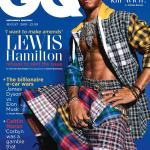 Lewis Hamilton Pose in a skirt for GQ Magazine
