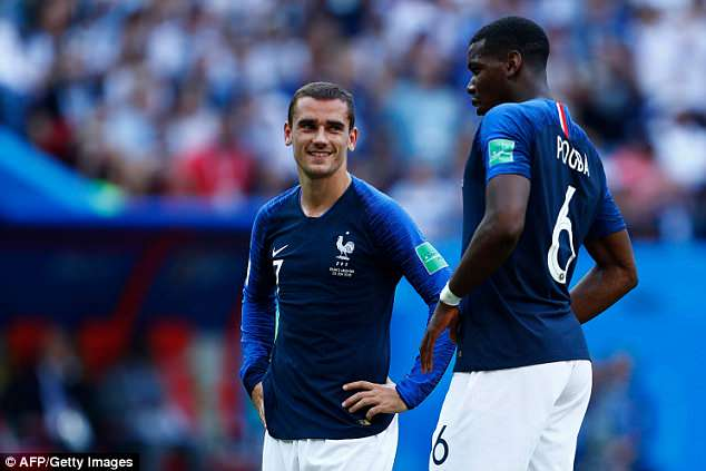 Griezmann opened the scoring for France from the penalty spot against Argentina