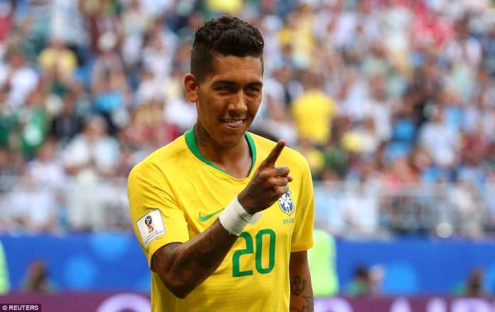 Roberto Firmino came off the bench for Philippe Coutinho and made an impact after ghosting in at the back post