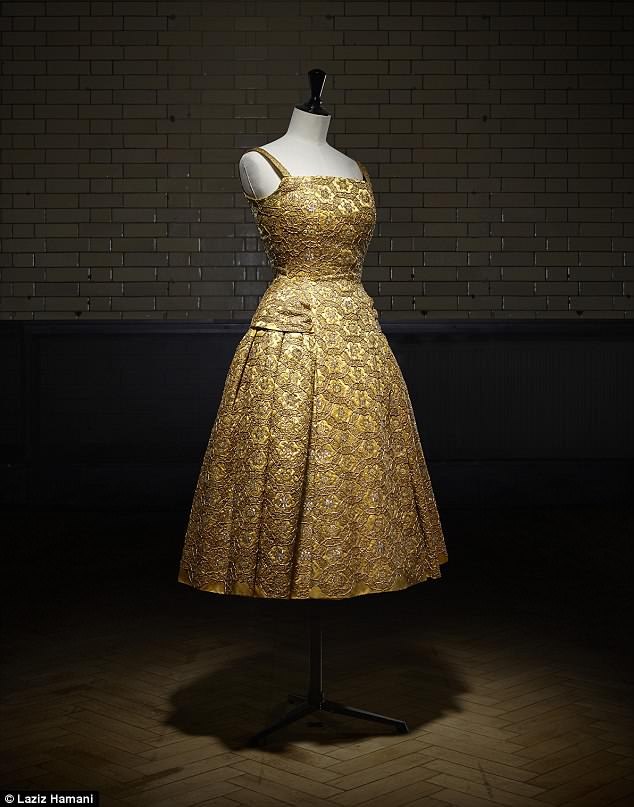 The new exhibition at the V&Awill take a look back at the House of Dior from 1947 to the present day. Pictured is aPerou short evening dress from the Autumn-Winter 1954 Haute Couture collection