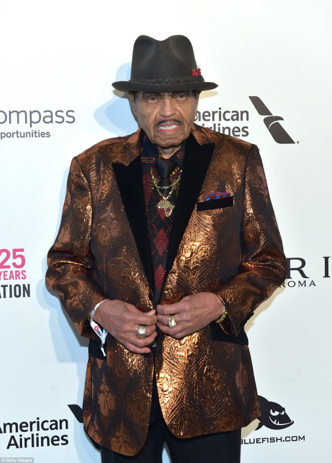 Joe Jackson (pictured in March 2018 in West Hollywood, California) passed away last Wednesday after his pancreatic cancer battle