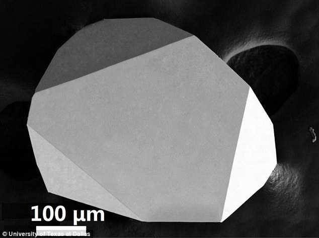 A team at the University of Texas at Dallas has developed a new form of heat-dispelling crystal made of the deadly poison arsenic (pictured).They say it cools down computer chips as effectively as diamond - which transfers heat better than any known material