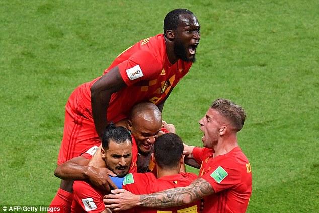 Romelu Lukaku claimed he helped out Eden Hazard and Kevin De Bruyne  positionally vs Brazil