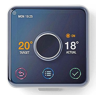 Control hot water and heating from your smartphone