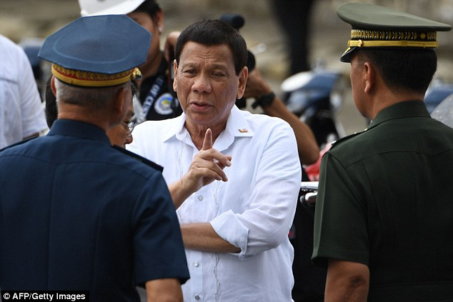 Filipino President Rodrigo Duterte questioned some of the basic elements of Catholicism in a speech on Friday