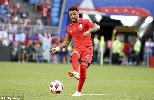 Manchester City defender Kyle Walker has adapted well to his new role for England