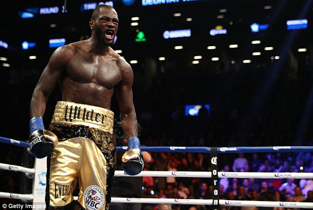 Joshua has yet to hear back from Deontay Wilder's camp over their potential fight