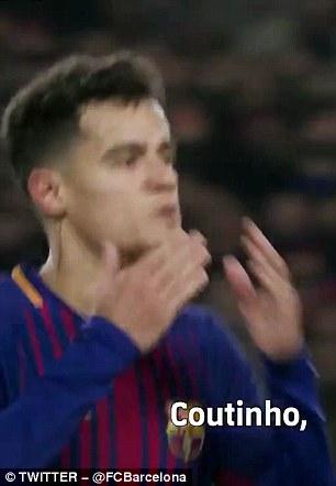 The ball also names Coutinho