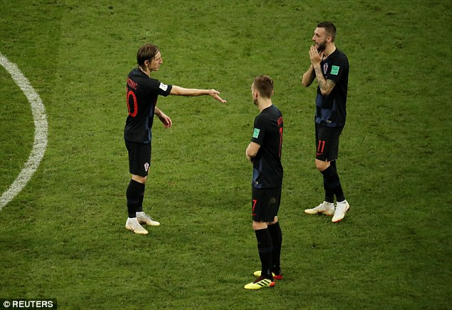 In Luka Modric (left) and Ivan Rakitic (centre), Croatia have highly talented midfielders