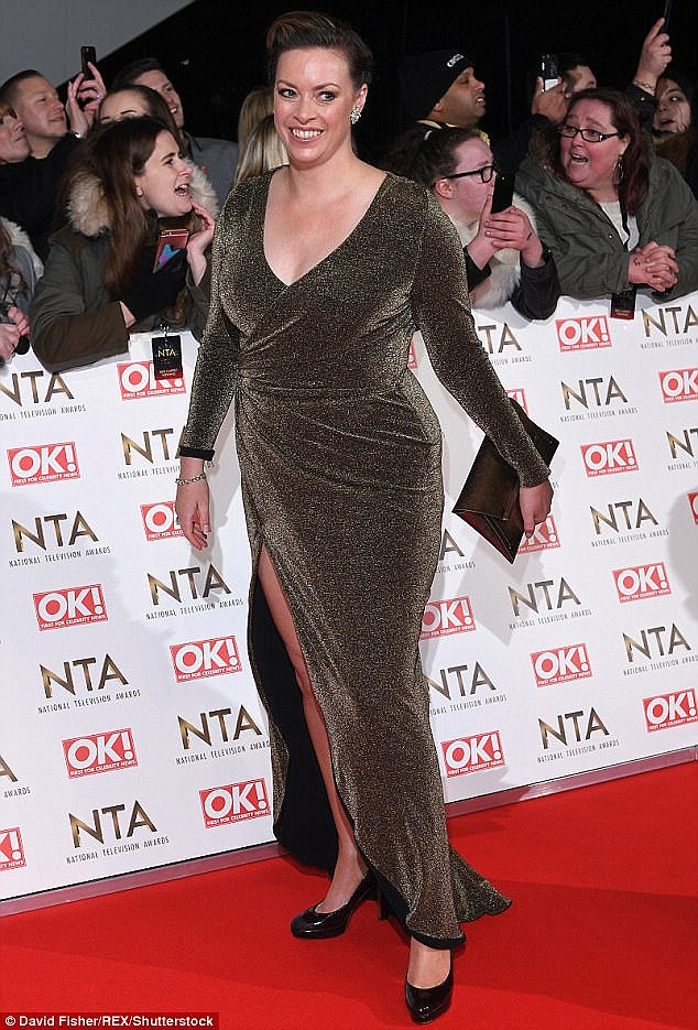Sharon is a popular member of the This Morning team, and wore the earrings of the show's late agony aunt Denise Robertson at the National Television Awards last January