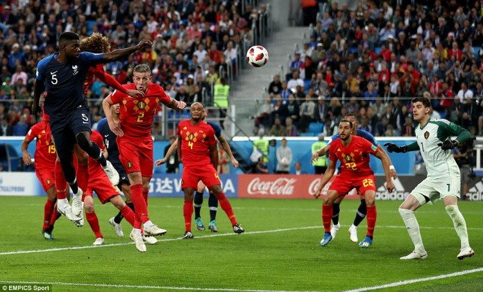 As has so often been the case at this World Cup, a set piece proved to be vital with France scoring from a corner