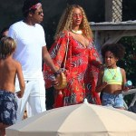 The Carters:Beyonce ,Blue Ivy and Jay Z spotted in Cannes