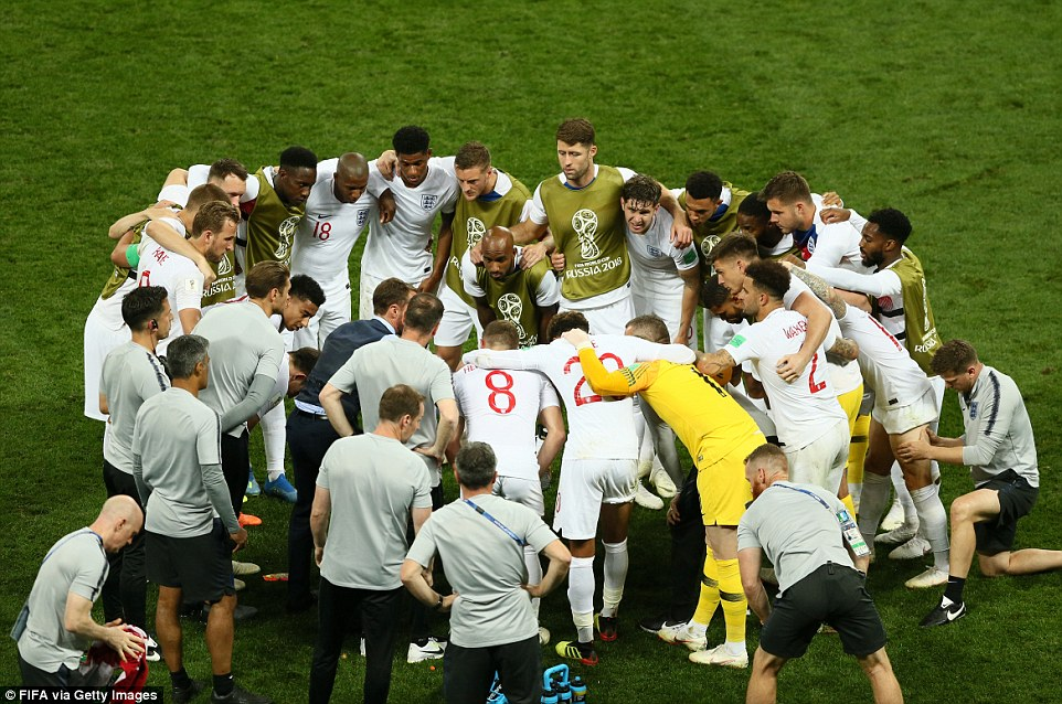 Southgate marshalls his troops as England's World Cup semi-final against Croatia heads in to extra-time on Wednesday