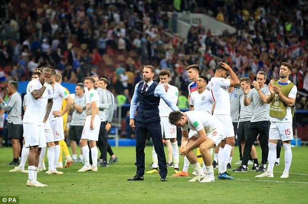 Gareth Southgate's England team have inspired us all during their World Cup campaign