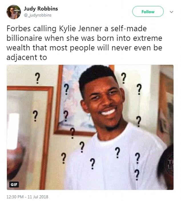 Forbes get slammed for calling Kylie Jenner a 'self-made' Billionaire