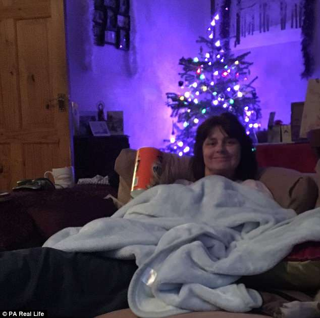 Ms Morawaka said her children refused to turn on the Christmas tree lights until she returned home from hospital and, when doctors said she could leave on Christmas Eve, they scrambled to put up a tree for her