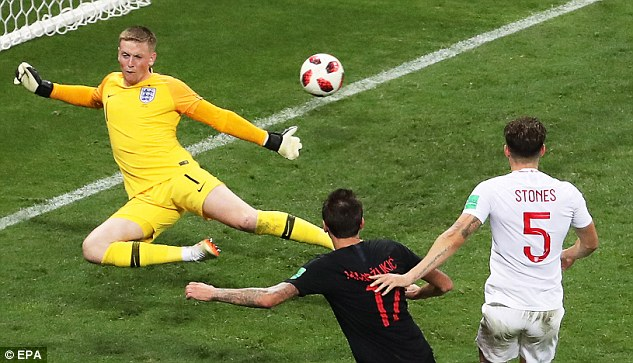 The striker bagged in the 109th minute to secure their first-ever place at a World Cup final