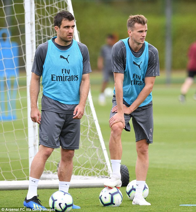 Sokratis Papastathopoulos (left) and Stephan Lichtsteiner will bring plenty of experience