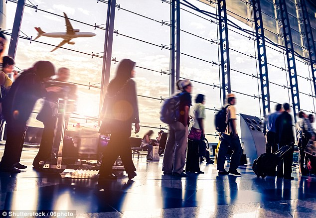 Criminals have been selling codes to access airport security systems on the dark web for just £7 ($10), according to a new investigation (stock image)