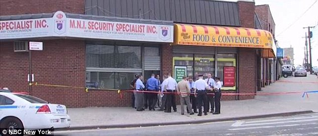 Rios was attacked at M.N.I. Security Specialist Inc in the Bronx Wednesday afternoon. Abdul-Muhaymin's brother-in-law owns the business