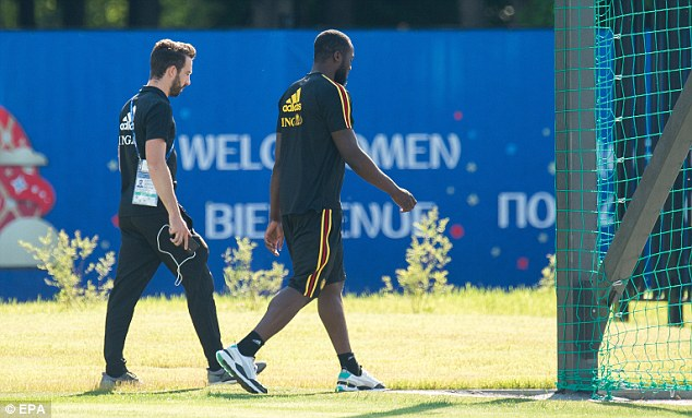 Romelu Lukaku (R) will be hoping he can bag a couple of goals and take the Golden Boot
