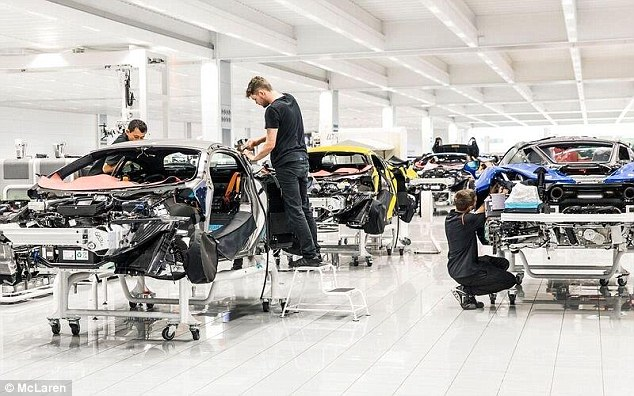 18 new models in 7 years: McLaren has set an ambitious target of creating a batch of new cars by 2025, all of which will use hybrid powertrains