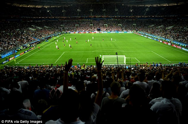 Chants of a 'possible discriminatory' nature by England fans are being investigated by FIFA
