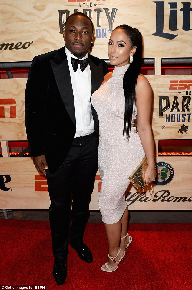 McCoy seen with Cordon at the 13th Annual ESPN The Party on February 3, 2017 in Houston, Texas