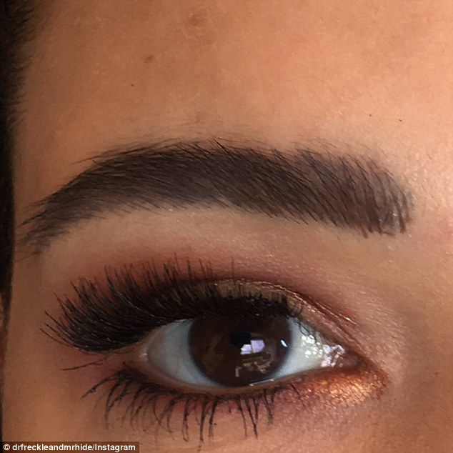 She saw to Gabrielle's infection a mere three days after she had the worst microblading experience imaginable - and solved the problem