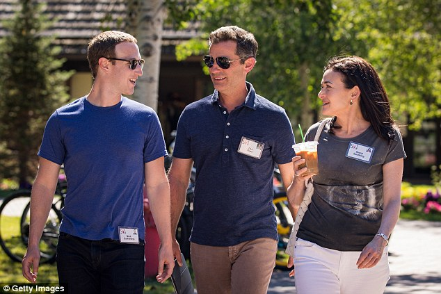 Yet on Thursday, all the trials and tribulations at Facebook HQ seemed forgotten as a very social Zuckerberg got his networking on in a big way at the Allen & Company conference in Sun Valley